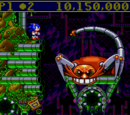 Sonic Spinball bosses