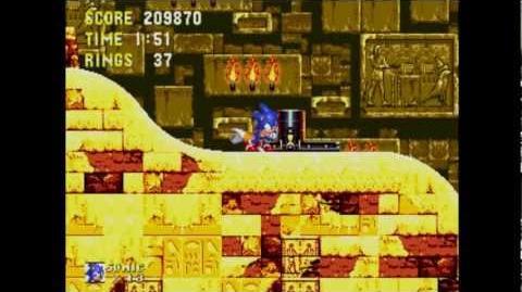 Sonic The Hedgehog 3 & Knuckles - Gameplay Part 9 Sandopolis Zone