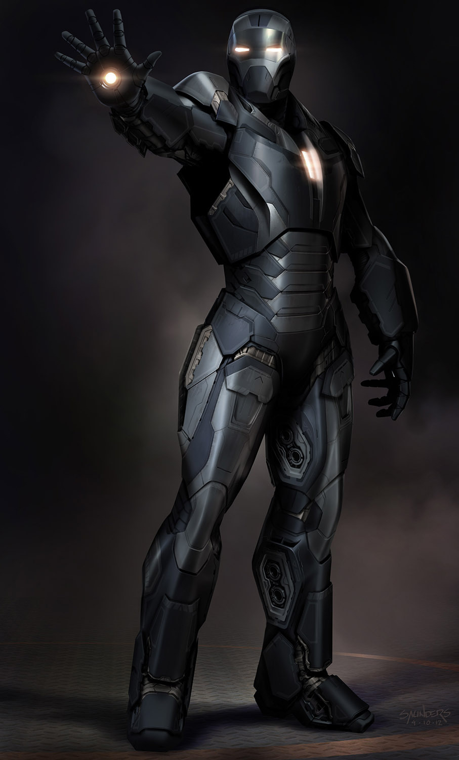 Size of this preview  290   215  480 pixels   Other resolutions  145    Iron Man Stealth Armor Concept Art