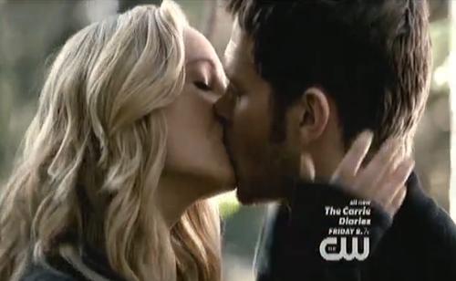 Www Glee Riker Carter Kiss: The Vampire Diaries Wiki