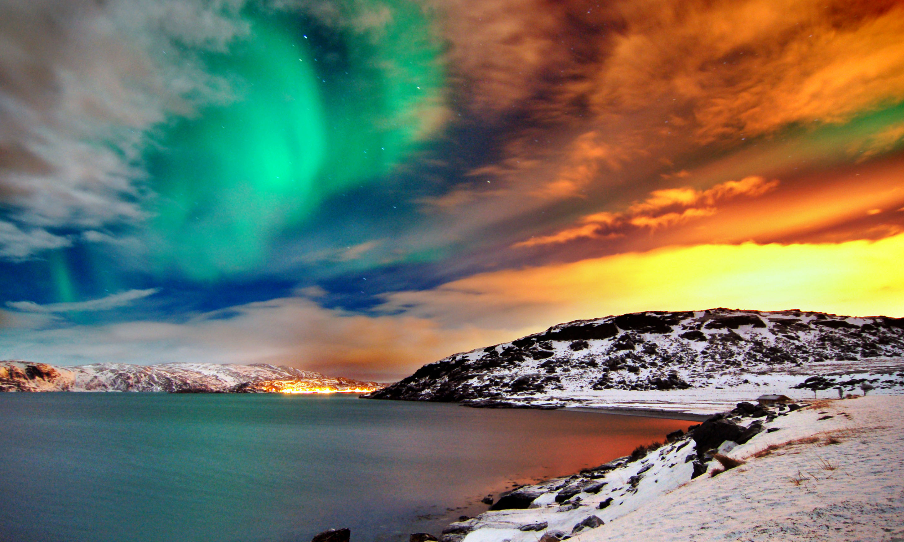Image - Hd-wallpapers-northern-lights-norway-fan-full-1080p