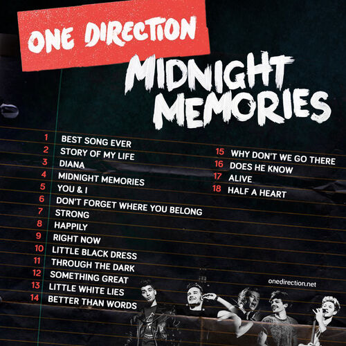 One Direction + Lyrics + Midnight Memories + Diana | One ... |One Direction Song Quotes Midnight Memories