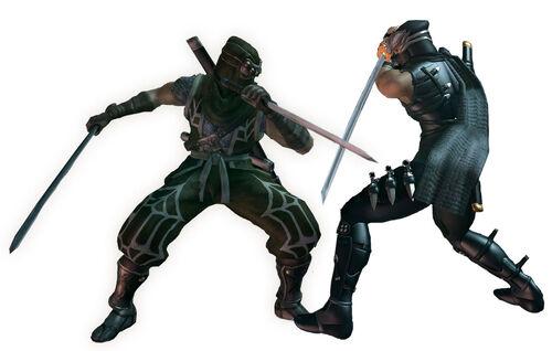Ninja Gaiden Clans Ryu Hayabusa Ninja Gaiden