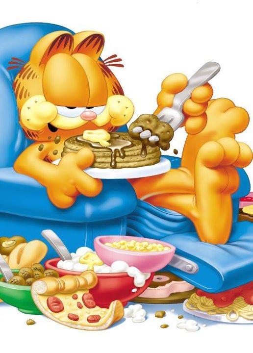 Garfield Eating File:garfield eating.jpeg