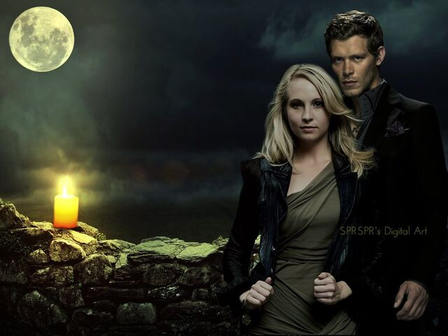 Image - Klaus and caroline 5.jpg - The Vampire Diaries ...