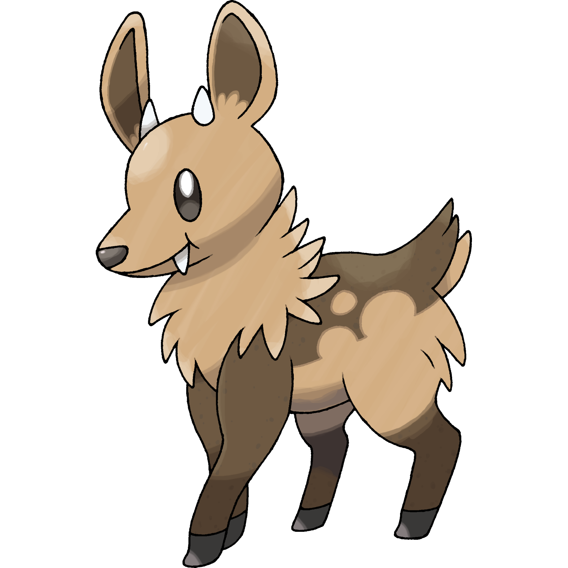 stantler pokemon coloring pages - photo#38