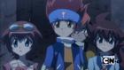 Madoka, Gingka e Yuki