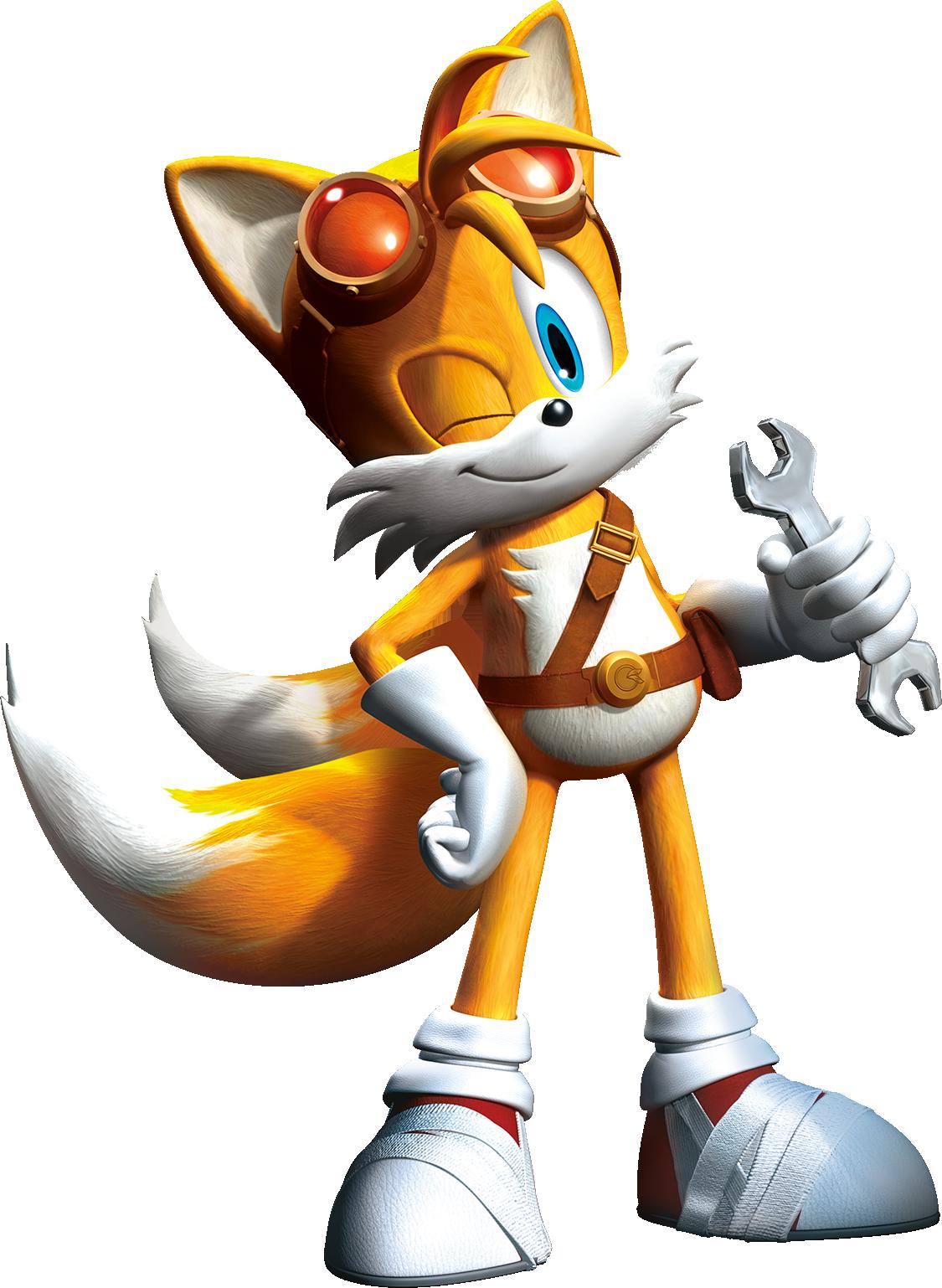 Tails (Sonic boom) Minecraft Skin