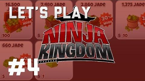 Ninja Kingdom - 04 Fast leveing Lots of Jade