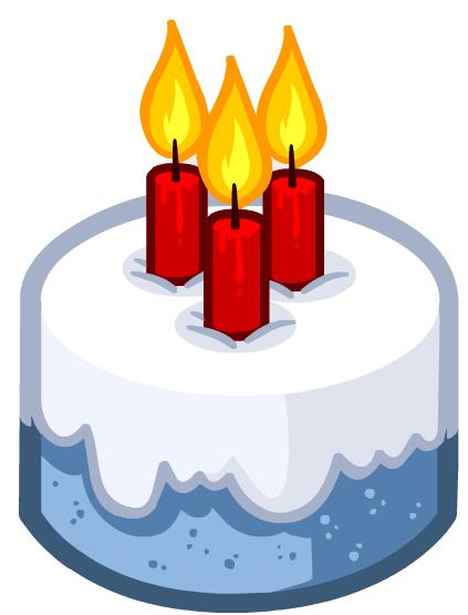 Chat Emoticons Birthday Cake