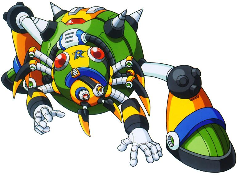 Web Spider Megaman Megaman x4 Boss 1 Web Spider