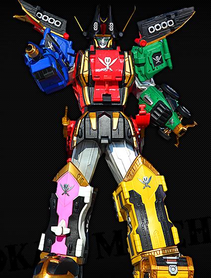 Legendary megazord rangerwiki the super sentai and - Robot power rangers megaforce ...