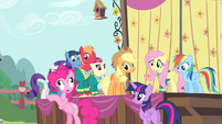 """Pinkie Pie """"didn't look completely petrified"""" S4E14"""