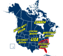 Southeast Region of North America