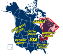 Northeast Region of North America
