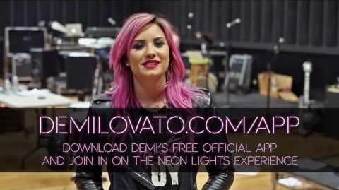 Demi Lovato - DOWNLOAD THE OFFICIAL APP!