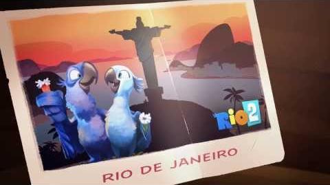 Return to Angry Birds Rio! (Мультфильм-трейлер)