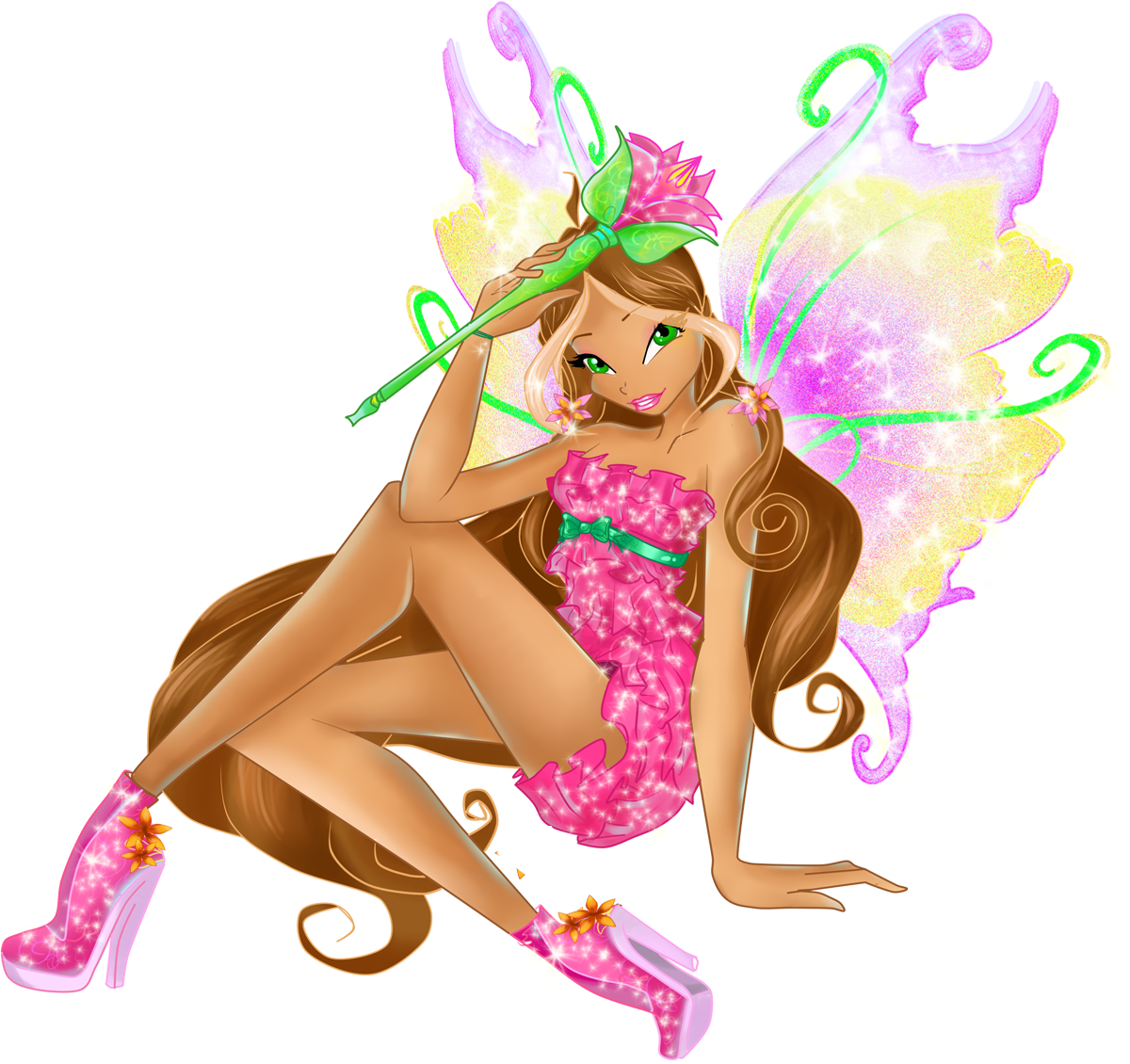 image flora mythix 2d fanmadepng winx club wiki