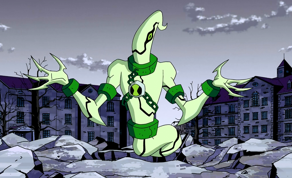 All Of Ben's Aliens In Omniverse Design Ghostfreak_in_OV