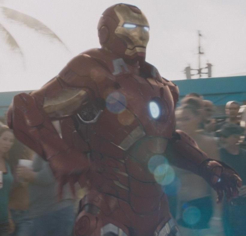 Image - Anthony Stark (Earth-199999) with Iron Man Armor ...