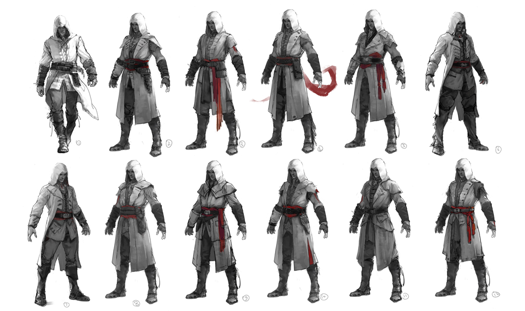 Image Early Connor Concepts Jpg Assassin S Creed Wiki