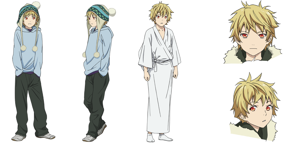 Character Design Appearance : Yukine noragami wiki