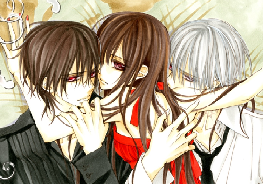 Size of this preview  640   215  447 pixels   Other resolutions  320    Zero And Kaname Vampire Knight