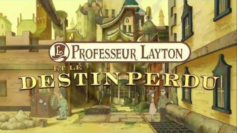 Professeur layton et le destin perdu bande annonce vf