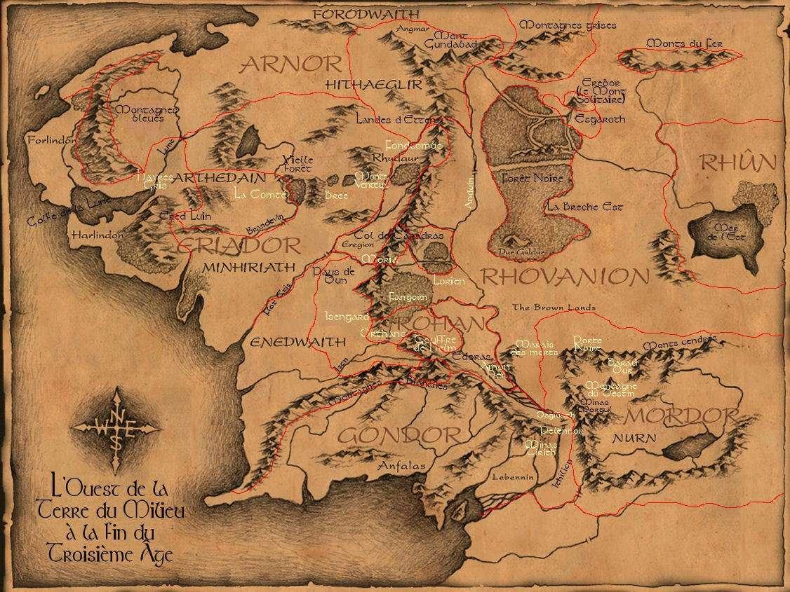 Image - Carte terre du...