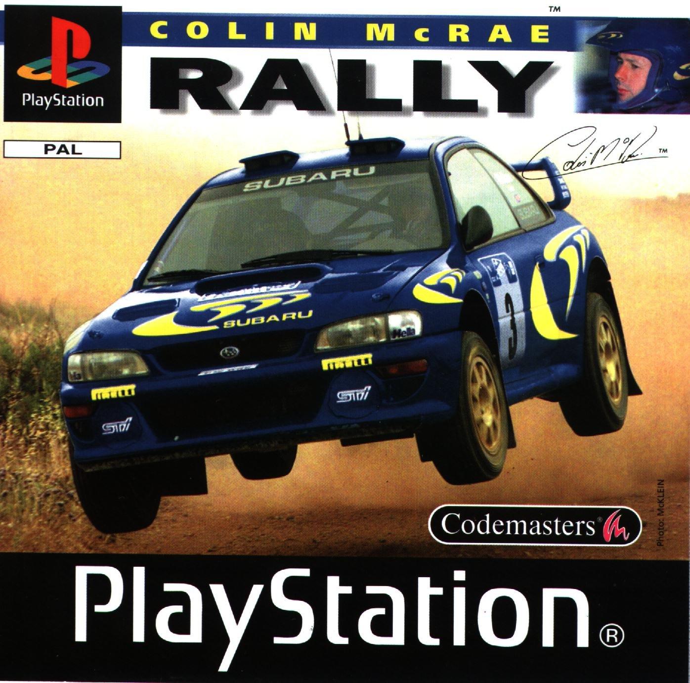 Colin McRae Rally (PS1)