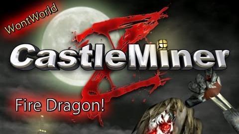 Castle Miner Z - Fire Dragon
