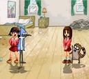 Mordecai and Rigby's Room