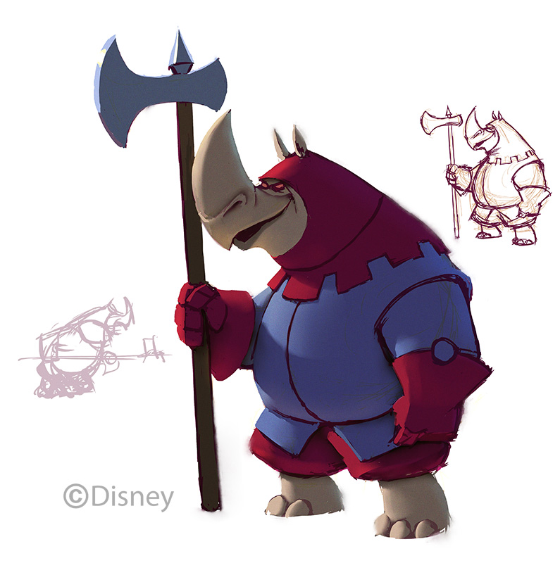 Rhino Guard Disney Infinity Wiki