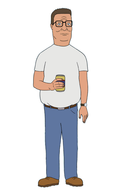 Hank Hill Characters Hank Hill Fictional