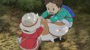 Natsume Yuujinchou - OAD children rubbing nyanko.jpg