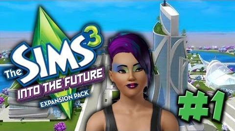 Sims 3 Into The Future Let's Play! Create-a-Sim 1