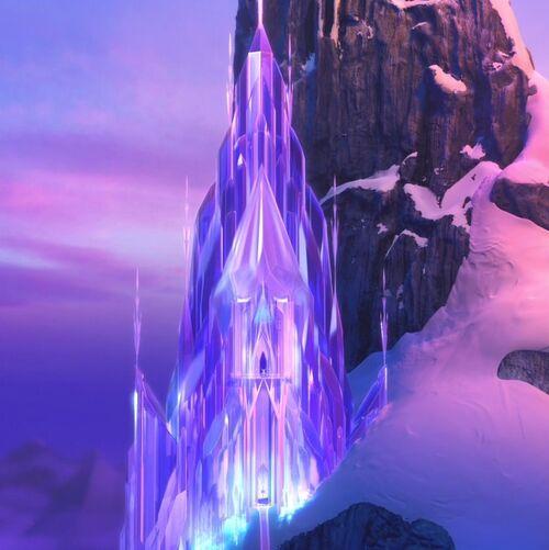 Elsa S Ice Palace Disney Wiki Wikia