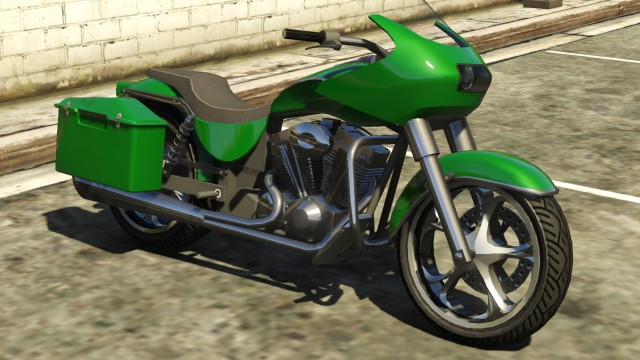 Bikes In Gta 5 With Flames WMCBagger Front GTAV png