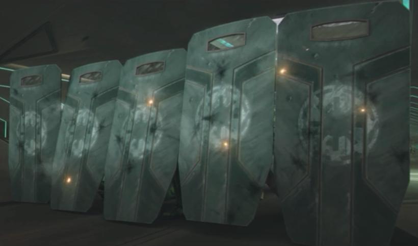 Blast shield - Clone Trooper Wiki