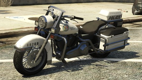 Bikes Gta Online A Police Bike in Grand Theft