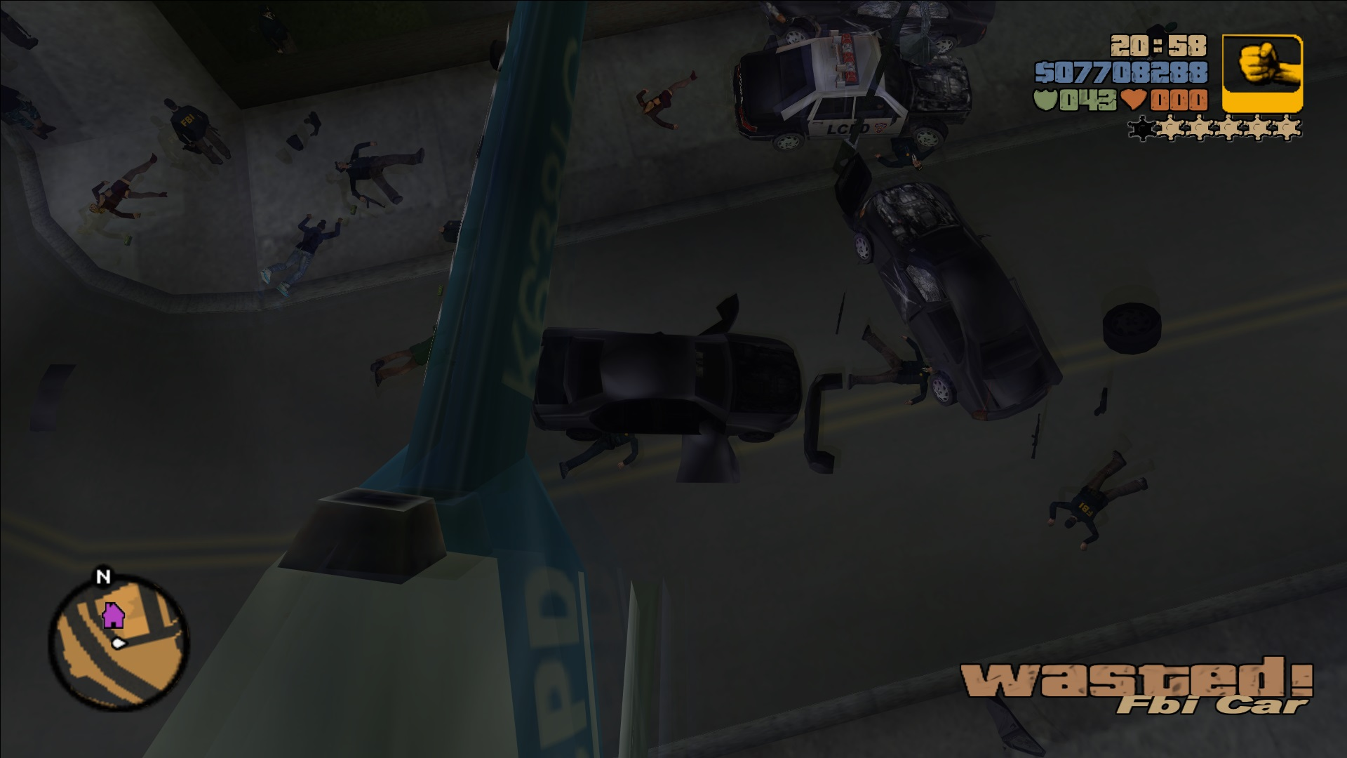 Wasted - GTA Wiki, the Grand Theft Auto Wiki - GTA IV, San Andreas ...