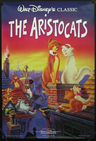 The Aristocats Previews (1992 Print) at Scratchpad, the ...
