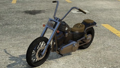 Chopper Bikes In Gta 5 Daemon GTAV Front png