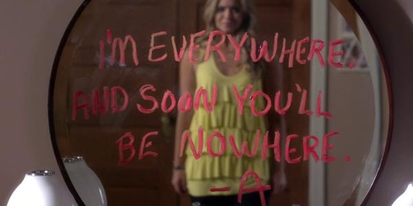 A's Messages in Season 4 - Pretty Little Liars Wiki