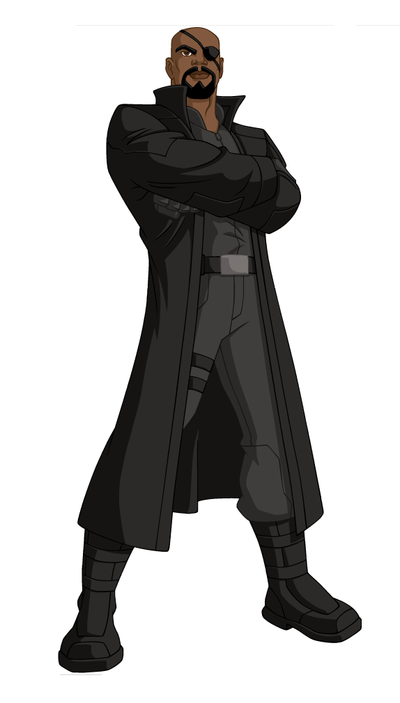Free Nick Fury From Avengers Coloring Pages: Marvel's Avengers Assemble Wiki