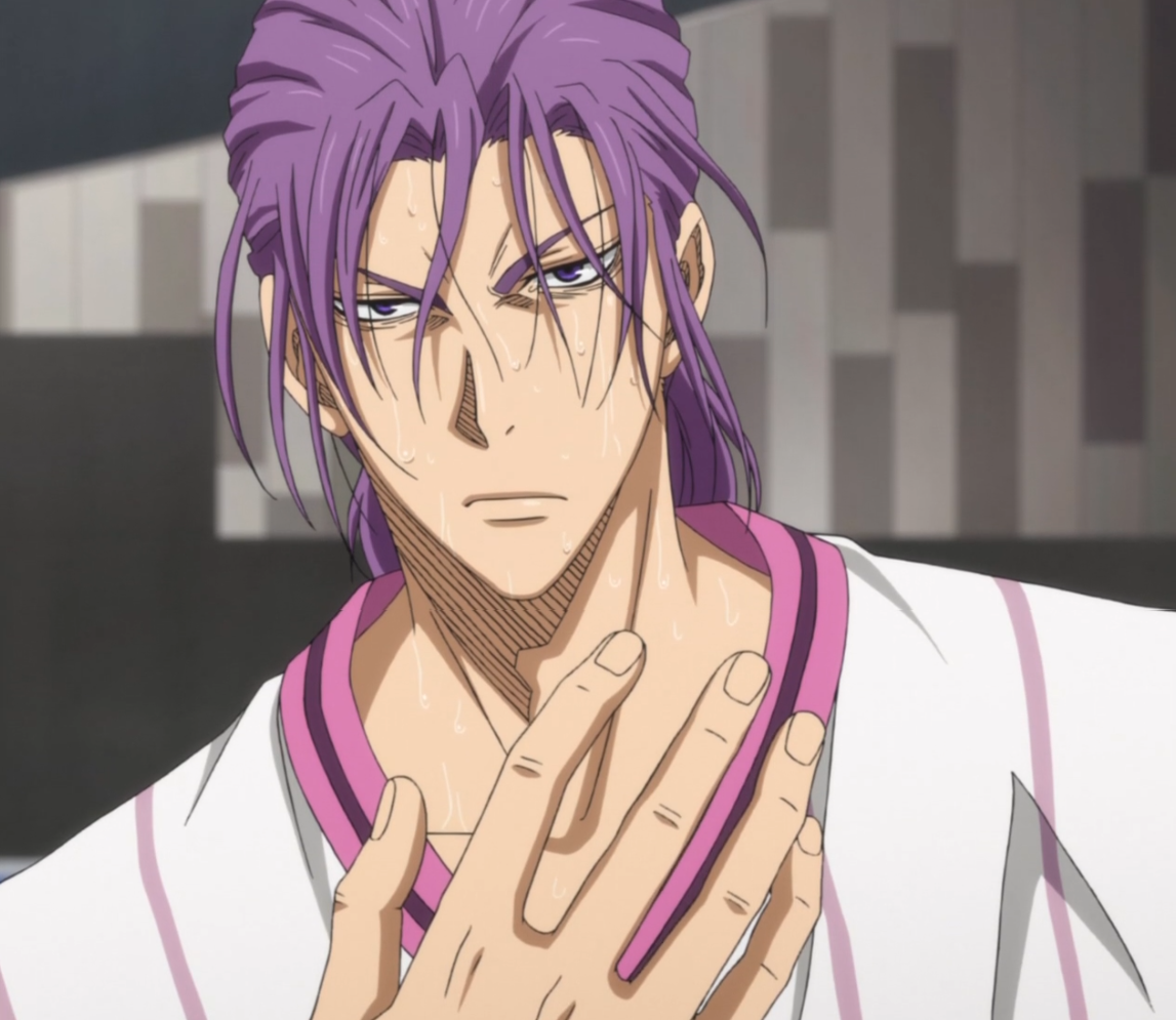 Viral Team IC 1 - INFERNO Murasakibara_with_ponytail