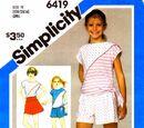 Simplicity 6419 A