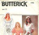 Butterick 4765 A