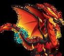 Dragones con 4 Elementos