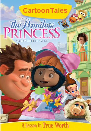 Jimmyandfriends s movie spoofs of quot veggietales the penniless princess